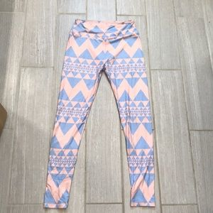 Lularoe Printed Leggings